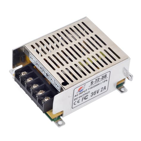 36v 2a Power Supply Adapter For Led Light Power Supply Transformers For Lights