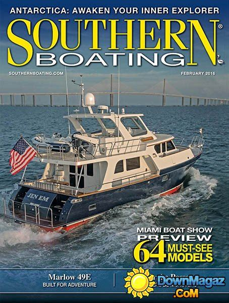 boating magazine boat of the year 2016 southern boating february 2016 187 download pdf magazines