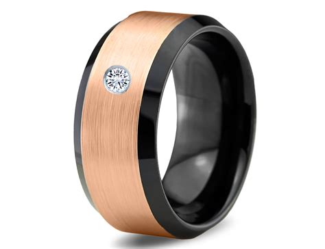 tungsten carbide wedding bands options for those