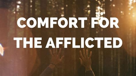 comfort the afflicted 30 words of comfort from samuel rutherford s pastoral