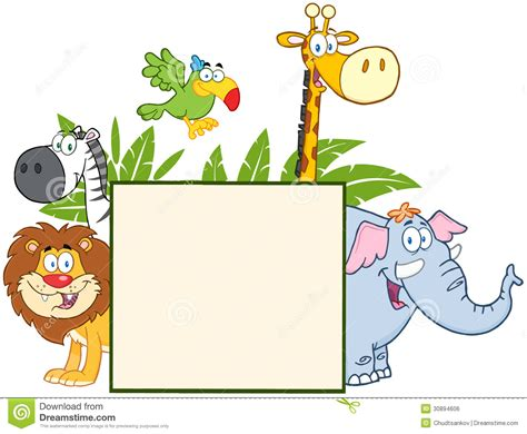 baby jungle animal border clip jungle animal clipart borders clipground