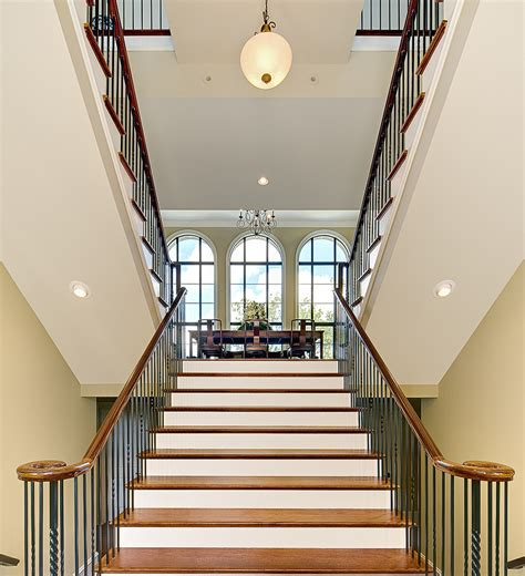Staircase Window Ideas Stunning Iron Balusters Decorating Ideas