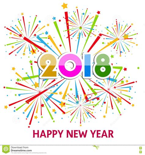 new year 2018 free vector happy new year 2018 clip free happy new year 2018