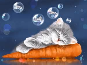 Sleeping Bag Duvet Peaceful Sleep Painting By Veronica Minozzi