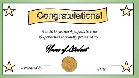 we made a free superlative certificate template and how