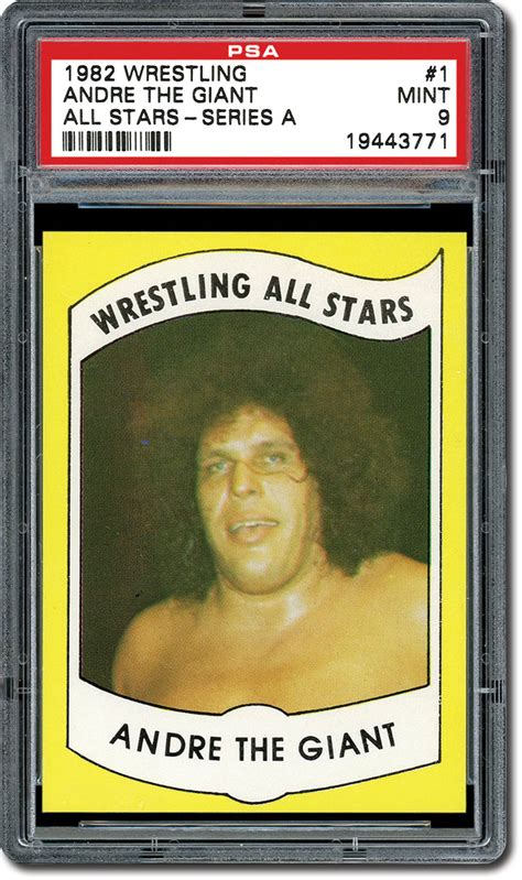 American Giant Gift Card - psa set registry collecting the 1982 wrestling all stars trading card set series a