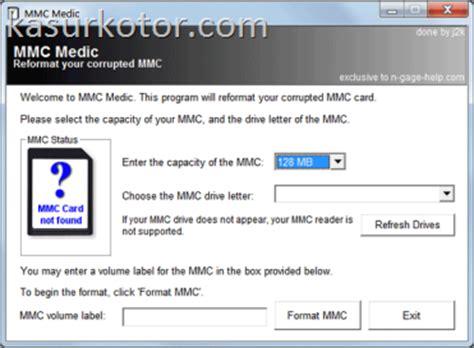 Kartu Memori Card Hp software untuk memperbaiki kartu memori memory card yang rusak serba gratis