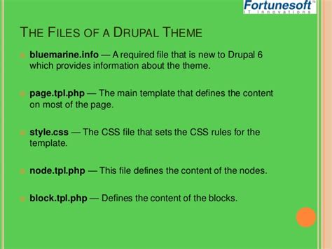 drupal template development drupal theme development
