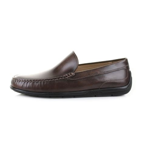 ecco shoes comfort mens ecco classic moc 2 0 coffee leather slip on loafers