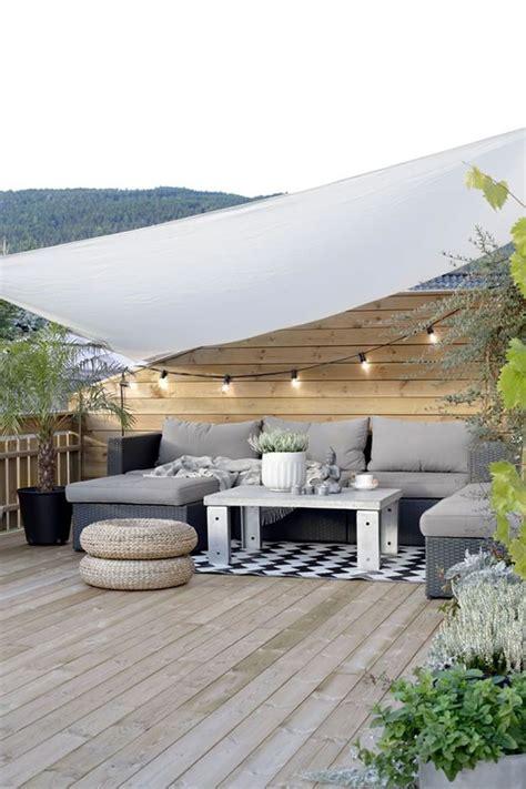 tende da terrazza terrazza con tenda outlikebalcony decoracion terraza