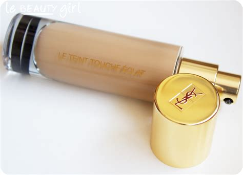 Ysl Touch Foundation by Ysl Le Teint Touche 201 Clat Swatches Review Photos