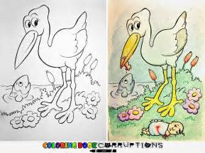 corrupted coloring books coloring book corruptions see what happens when adults do