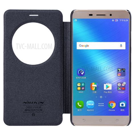 Jual Nillkin Sparkle Series Window Leather Asus Zenfone 4s A450 nillkin sparkle series smart view window leather for