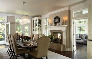Great Dining Rooms Dining Room Fireplace Ideas For Romantic Winter Nights