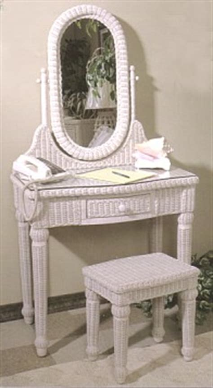 wicker vanity dressing table vanity bench wicker desk
