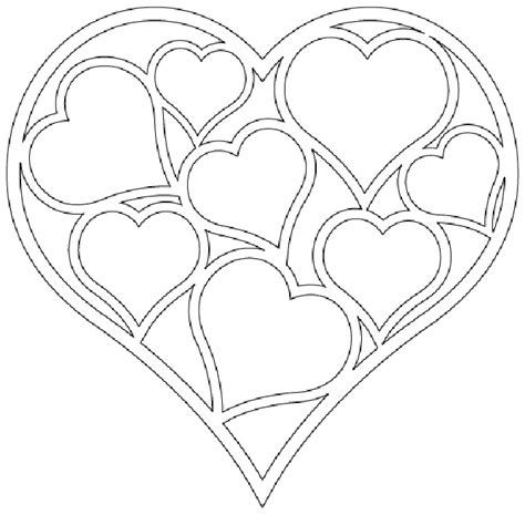 double heart coloring page double heart coloring pages coloring coloring pages
