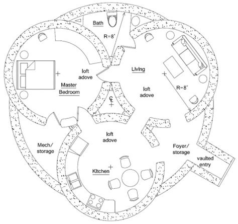hobbit hole floorplan my style pinterest
