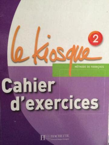 parachute 1 cahier dexercices le kiosque 1 livre de l eleve 9782011555311 vazlon brasil