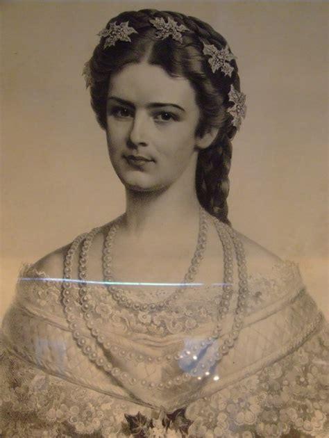 austrian hair gallery empress elisabeth amalie eugenie sissi 1837