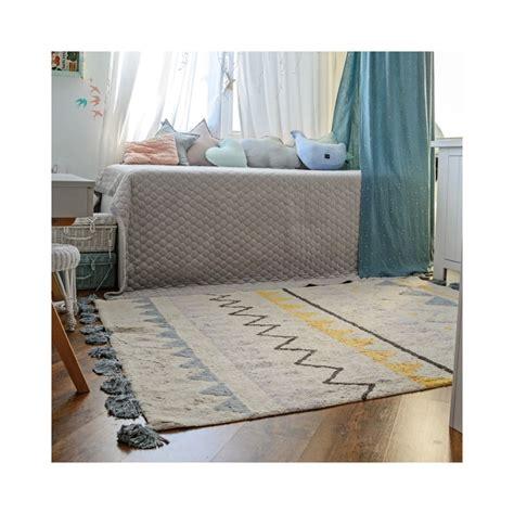 alfombra vintage comprar alformbra azteca natural vintage azul lorena canals