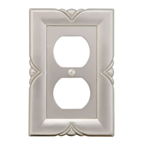 amerelle grayson 1 duplex wall plate copper and the home amerelle continental 2 duplex wall plate rubbed