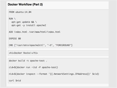 docker libnetwork tutorial introduction to docker