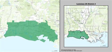 louisiana house map louisiana s 3rd congressional district