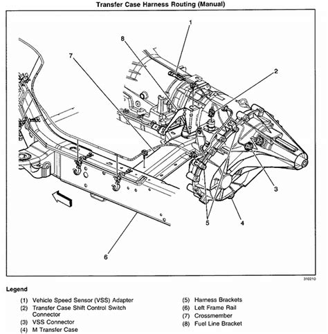 2001 Gmc Yukon Transfer Case Removel Service Manual