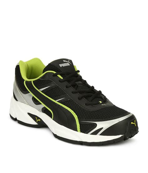 pumas shoes sports shoes black running shoes buy