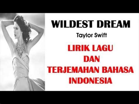 biography taylor swift dalam bahasa indonesia wildest dream taylor swift cover lirik lagu dan
