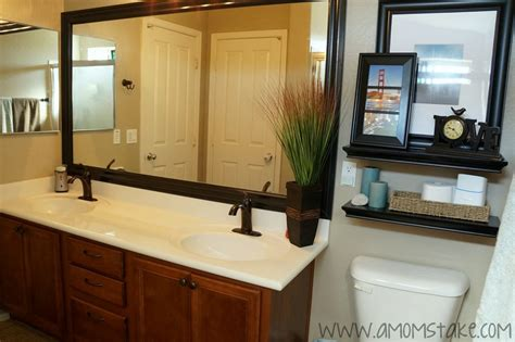 diy bathroom mirror frame ideas diy mirror frame tips and tricks for beautiful decoration