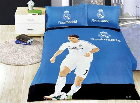 100 Cotton Duvet Set Wholesale Home Textile Real Madrid Team 100 Cotton