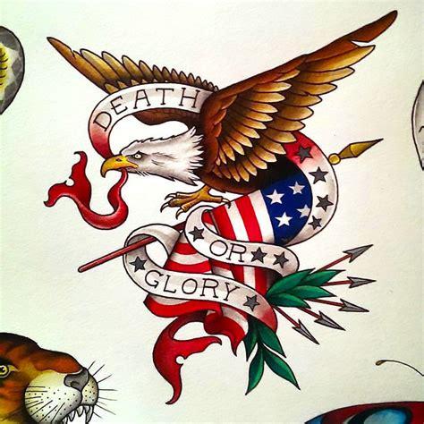 tattoo flash eagle tattoo designs cool traditional eagle and american flag