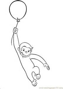 printable coloring curious george 29 cartoons gt curious george