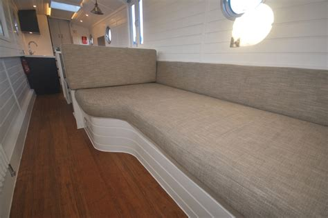 narrowboat sofa beds pendle narrowboats com valencia narrowboat