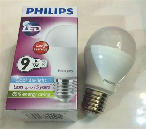 Led Philips 10 Watt jual bohlam lu philips led bulb 10 watt putih unique corporation