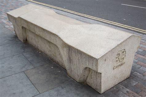 concrete bench design unpleasant design hostile urban architecture 99 invisible