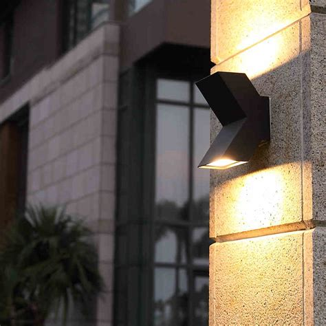 Landscape Wall Lights Aliexpress Buy Led Courtyard L Outdoor Waterproof Balcony Exterior Wall Light 220v Ip54