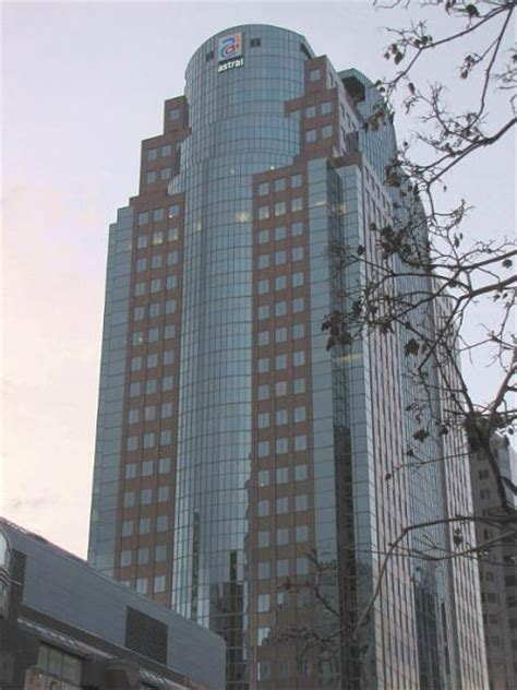 Lava L Tower montreal trust tower astral media greater montreal area