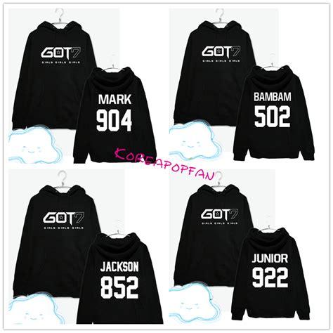 Jaket Hoodie Sweater Wanita Got 7 Logo got7 unisex hoodie bambam junior youngjae jaebum cap