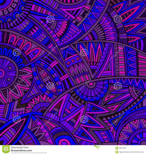 hippie vector pattern abstract vector tribal ethnic background pattern stock