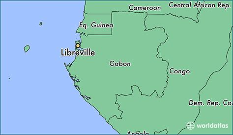 where is gabon on the world map where is libreville gabon where is libreville gabon
