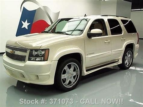 Southern Comfort Tahoe For Sale by Purchase Used 2007 Chevy Tahoe Lt Southern Comfort 4x4 Nav
