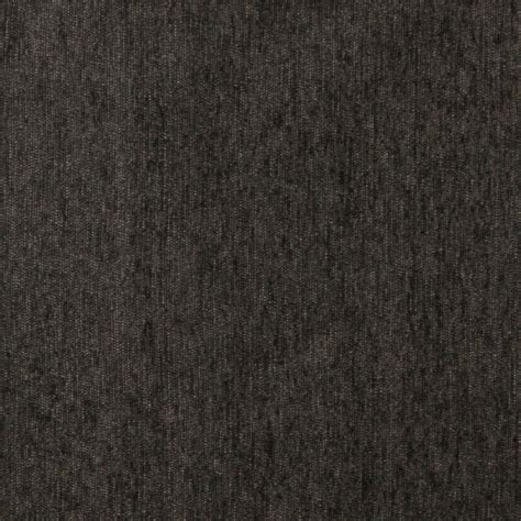 grey drapery fabric charcoal grey solid chenille upholstery fabric by the yard