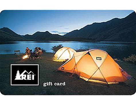 Rei Gift Card Discount - let them choose best gift cards for outdoorsy people