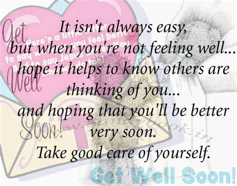 Get Well Soon Quotes by Get Well Quotes Quotesgram