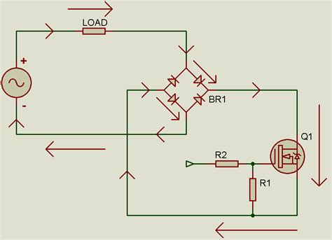 diode bridge in proteus tahmid s research on transformerless ac ac sine wave conversion part 1 ac ac buck
