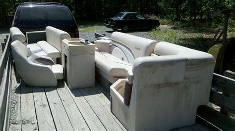 Used Pontoon Furniture by Alf Img Showing Gt Slightly Used Pontoon Seats
