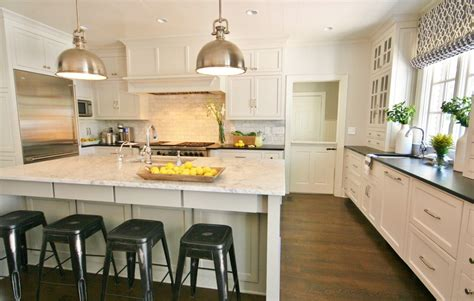 Pictures Of Subway Tile Backsplashes In Kitchen white carrara granite kitchen traditional with marble