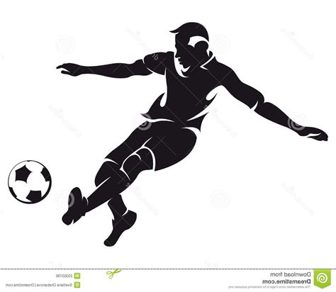 best free vector best free vector football soccer player silhouette photos